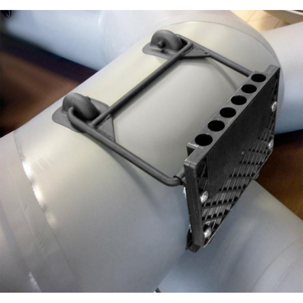 Транец навесной для надувных лодок универсальный c креплениями