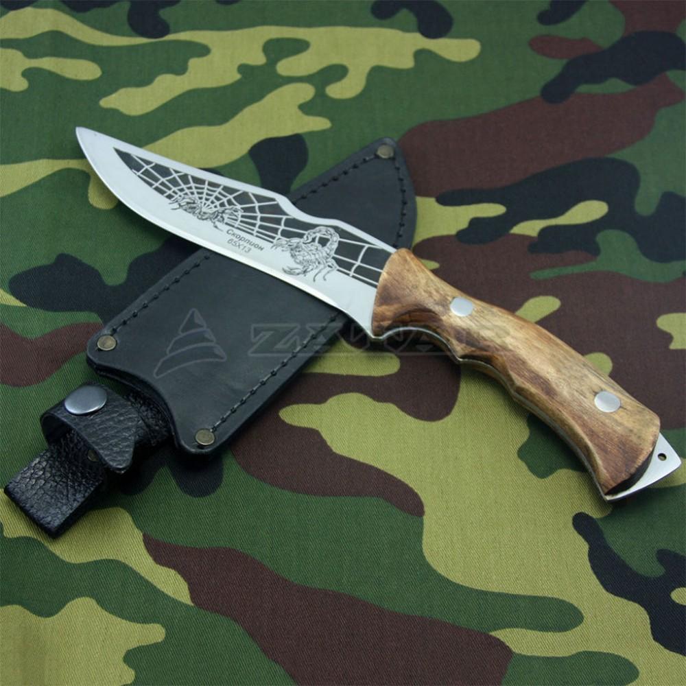 Нож охотничий СКОРПИОН