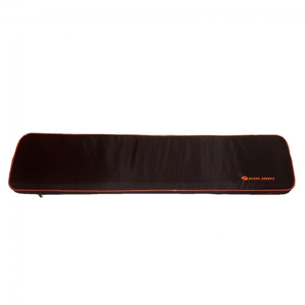 Накладка на банку мягкая 65х20см черная, Мягкое сиденье для надувных лодок Kolibri
