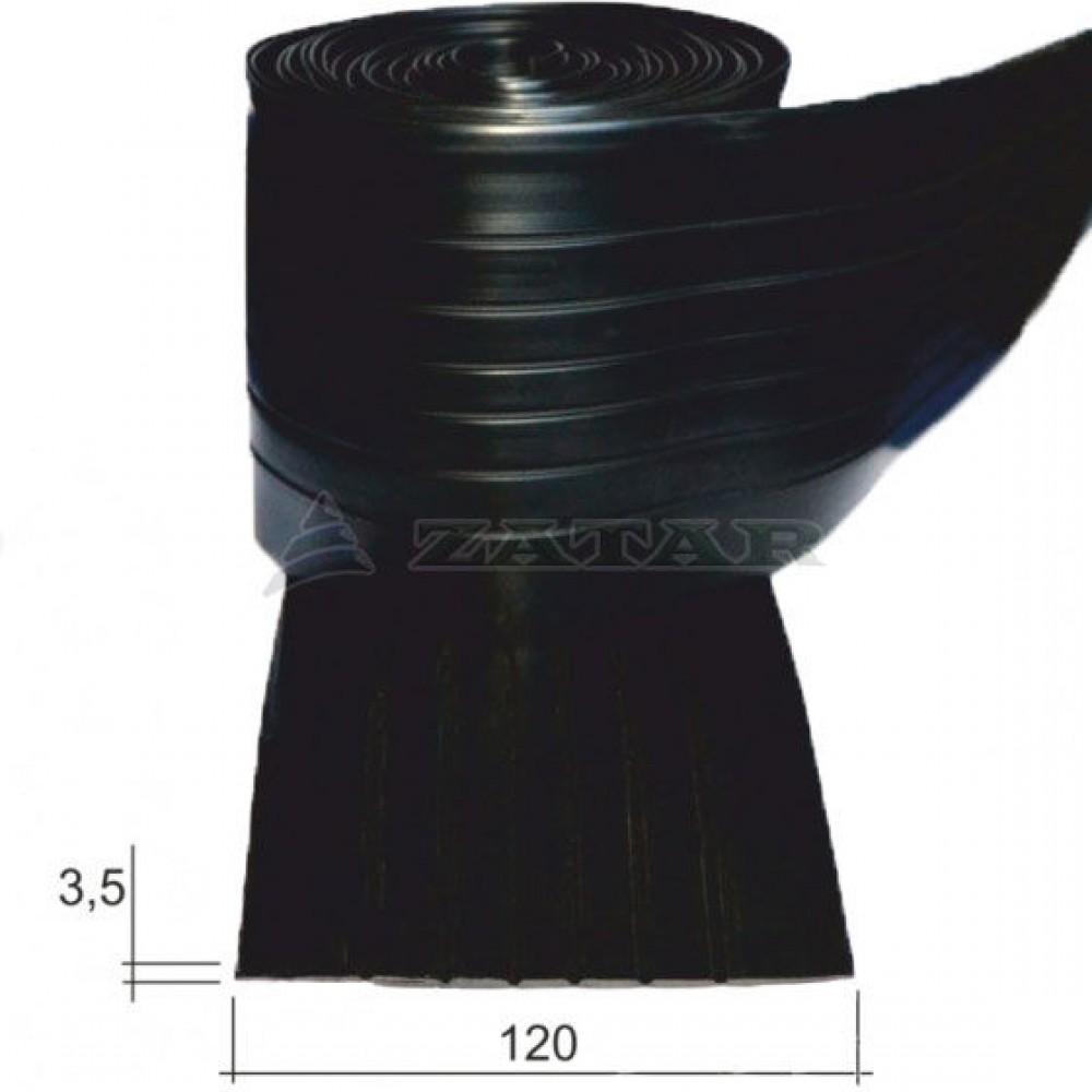 Привальный брус, лента 120 черная