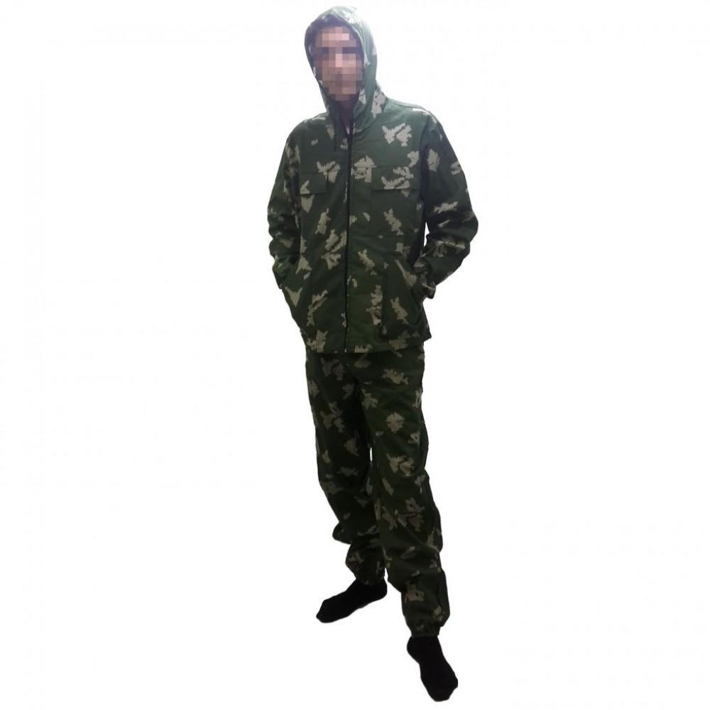 Летний камуфляжный костюм Березка, на молнии