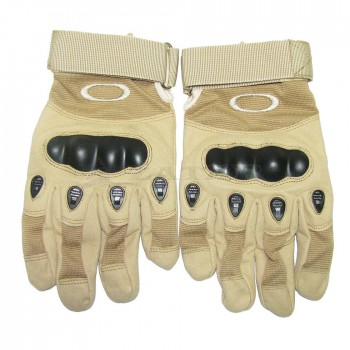 Перчатки тактические, с пальцами Oakley, песчаные