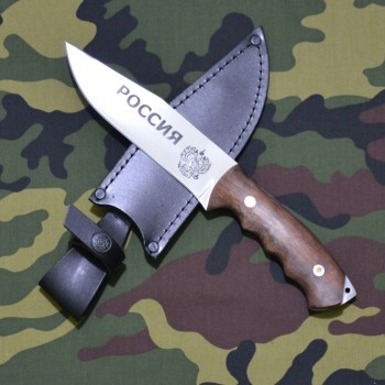 Нож туристический РОССИЯ