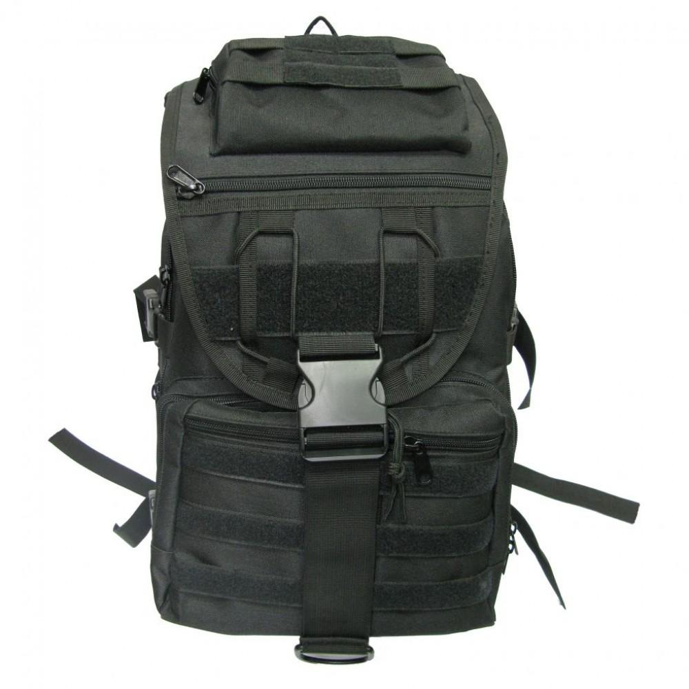 Рюкзак СПАРТАНЕЦ (черный)