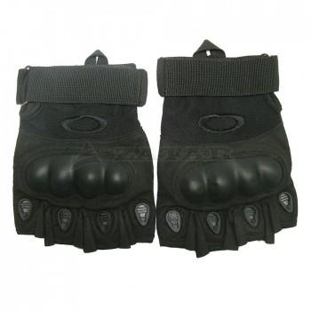 Перчатки тактические, без пальцев Oakley, черные