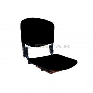 Поворотное мягкое кресло на банку для надувных лодок, эко кожа