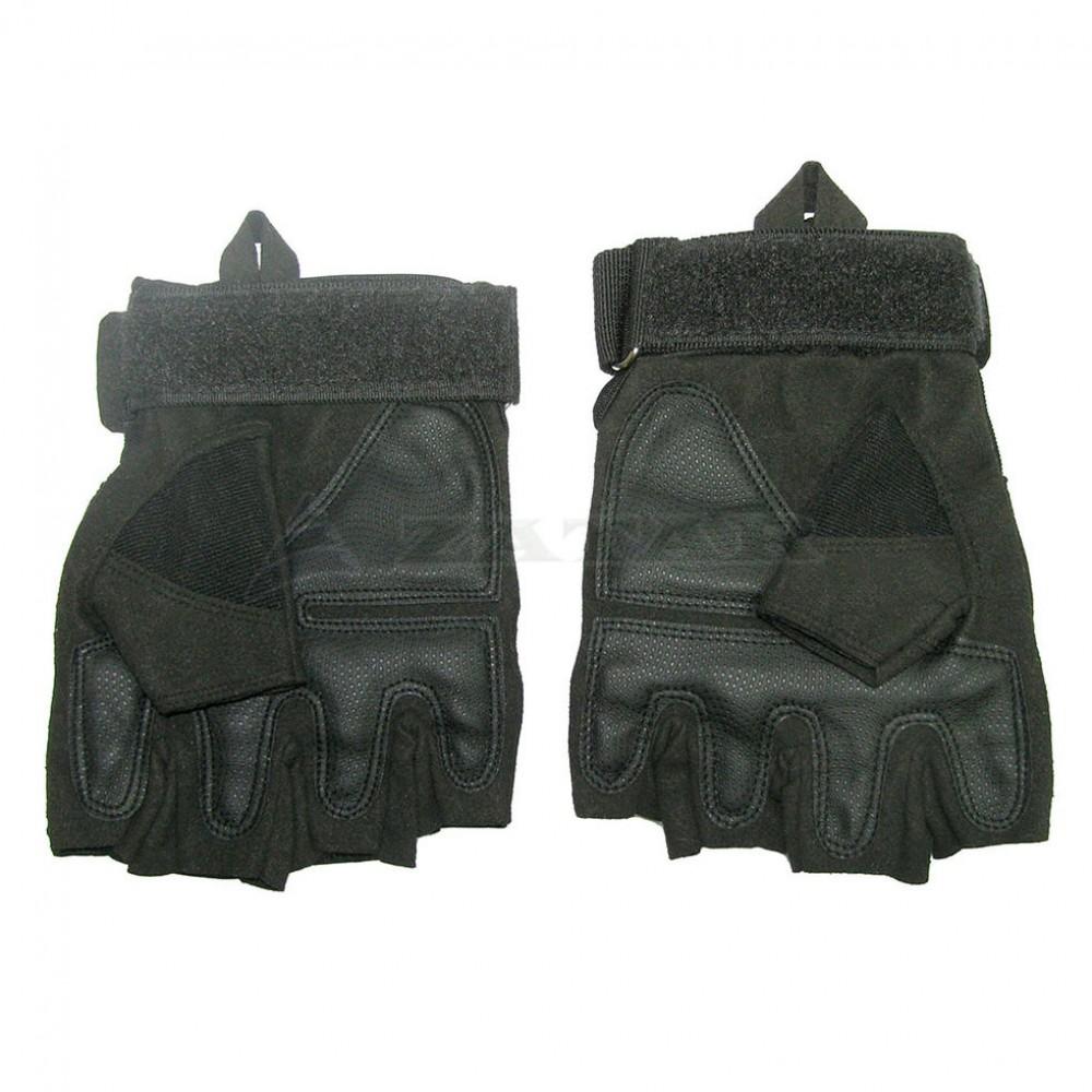 Перчатки тактические беспалые Oakley, черные