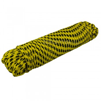 Канат, веревка для якоря 10мм 30м, полипропилен