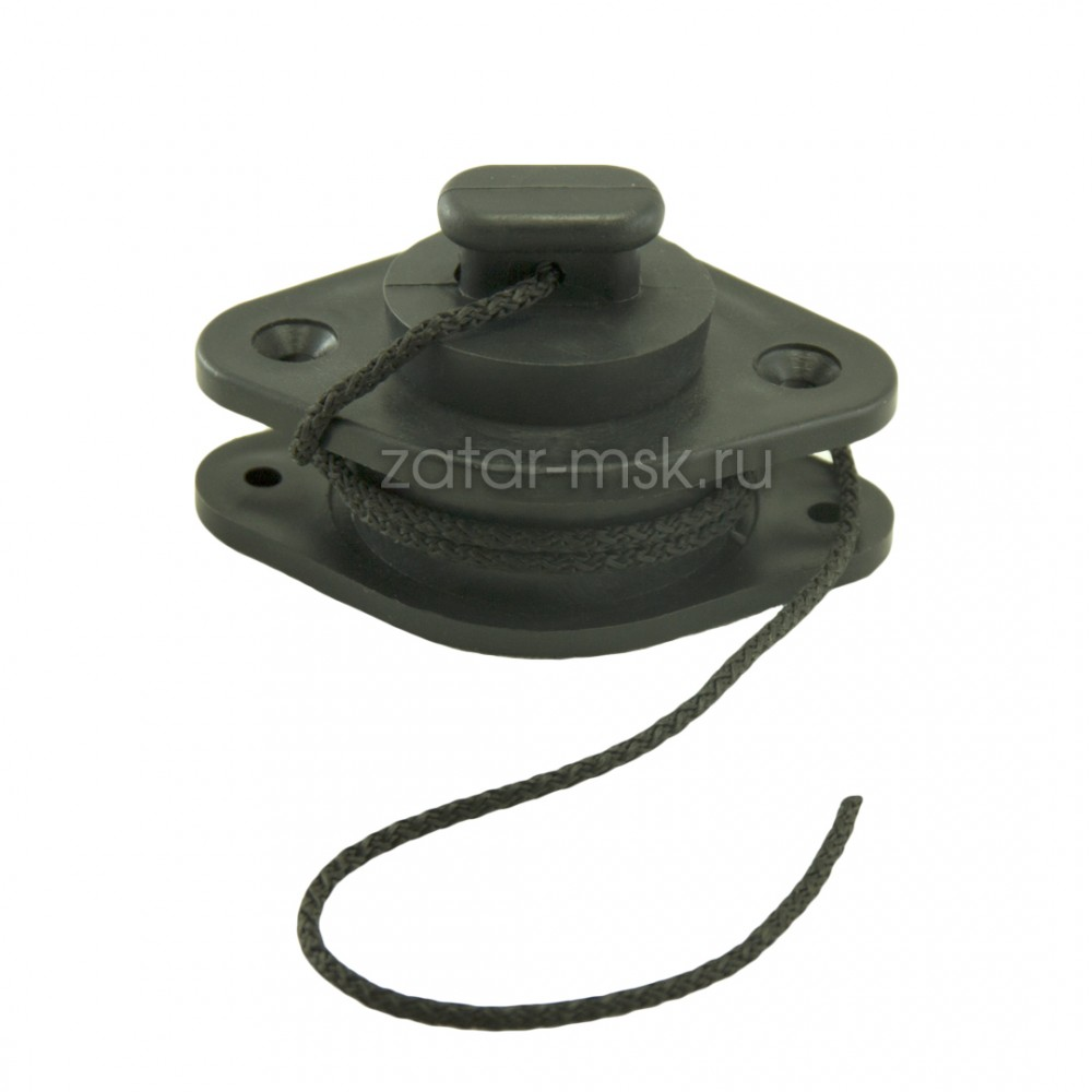 Клапан сливной на транец, 15-24 мм, пробка
