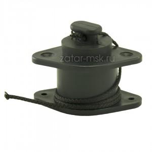 Клапан сливной на транец, 26-38 мм, пробка