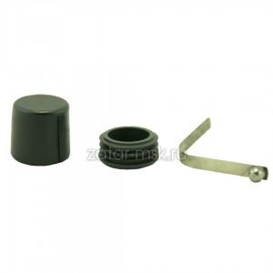 Кнопка весла металлическая с герметизационной пробкой