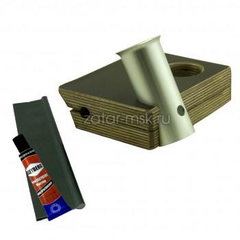 Универсальный крепежный блок, держатель спиннинга + столик