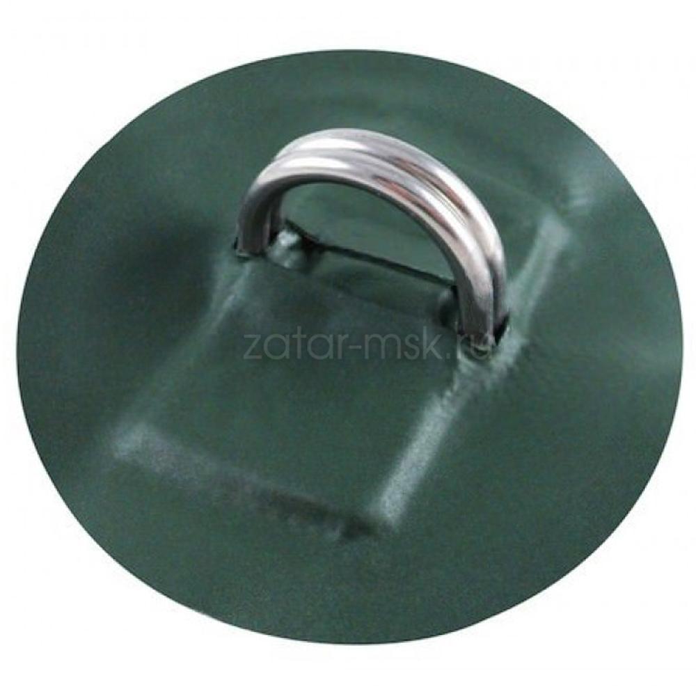 Рым кольцо для лодки D-образное 2 двойное №1.5 Зеленый