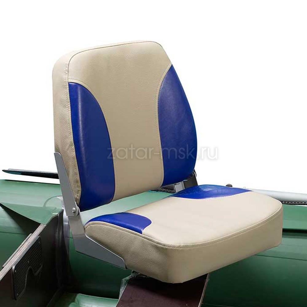 Кресло в лодку, катер №1.4 складное, поворотное, мягкое