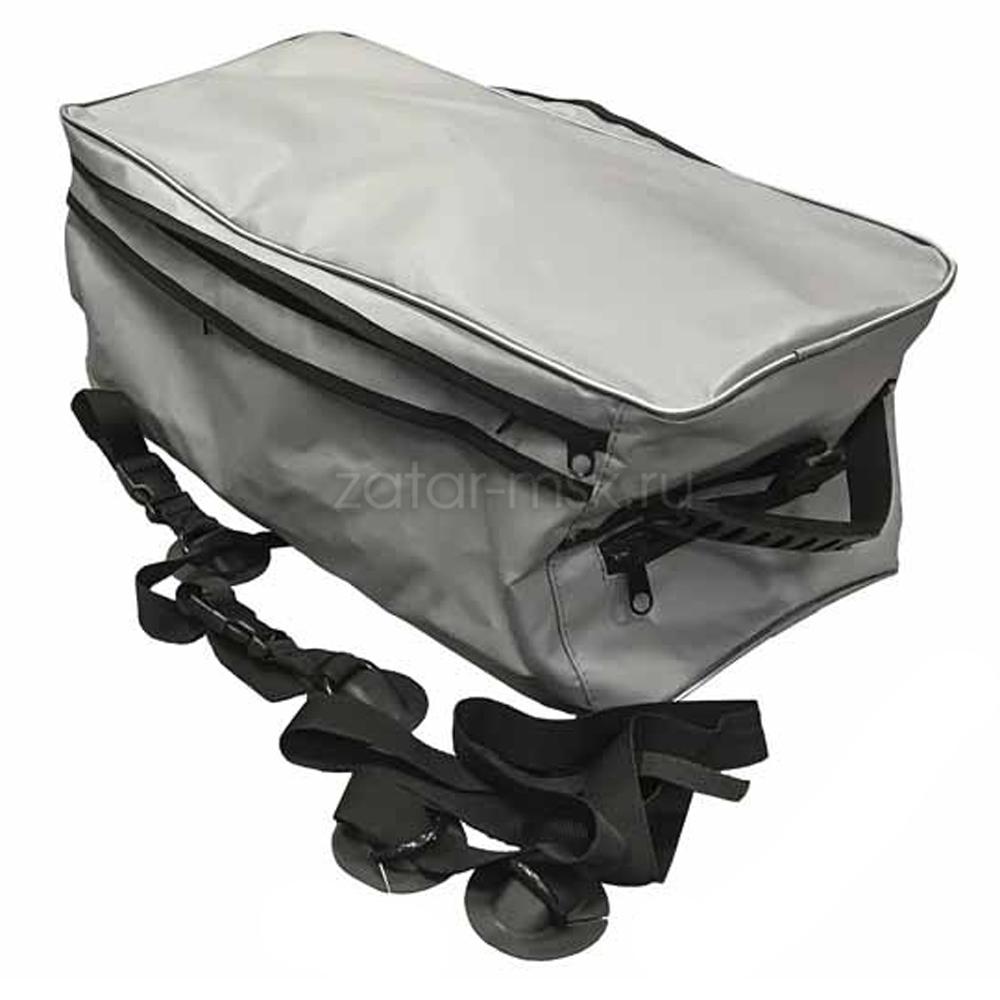 Багажная большая сумка на балон лодки №1.5 Серая