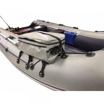 Багажная сумка на баллон лодки №1.5 Большая Серая