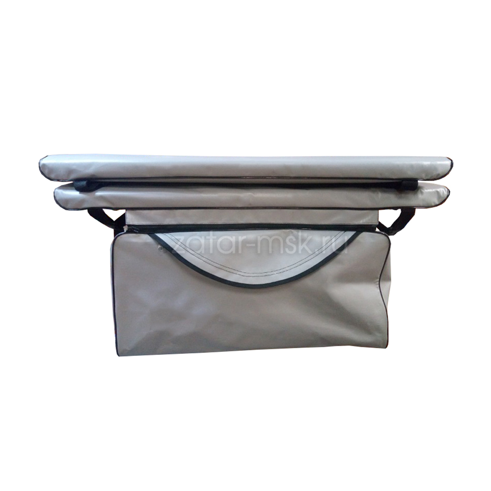Комплект 70х24 накладки на лодку + сумка под банку (2+1) ПВХ