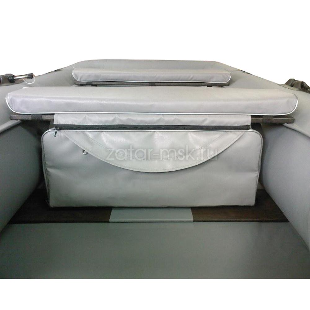 Комплект 84х24 накладки на лодку + сумка под банку (2+1) ПВХ