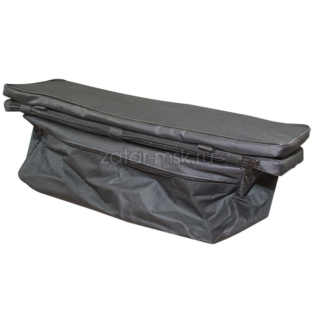 Комплект 85х30 накладки на лодку + сумка под банку (2+1) Oxford