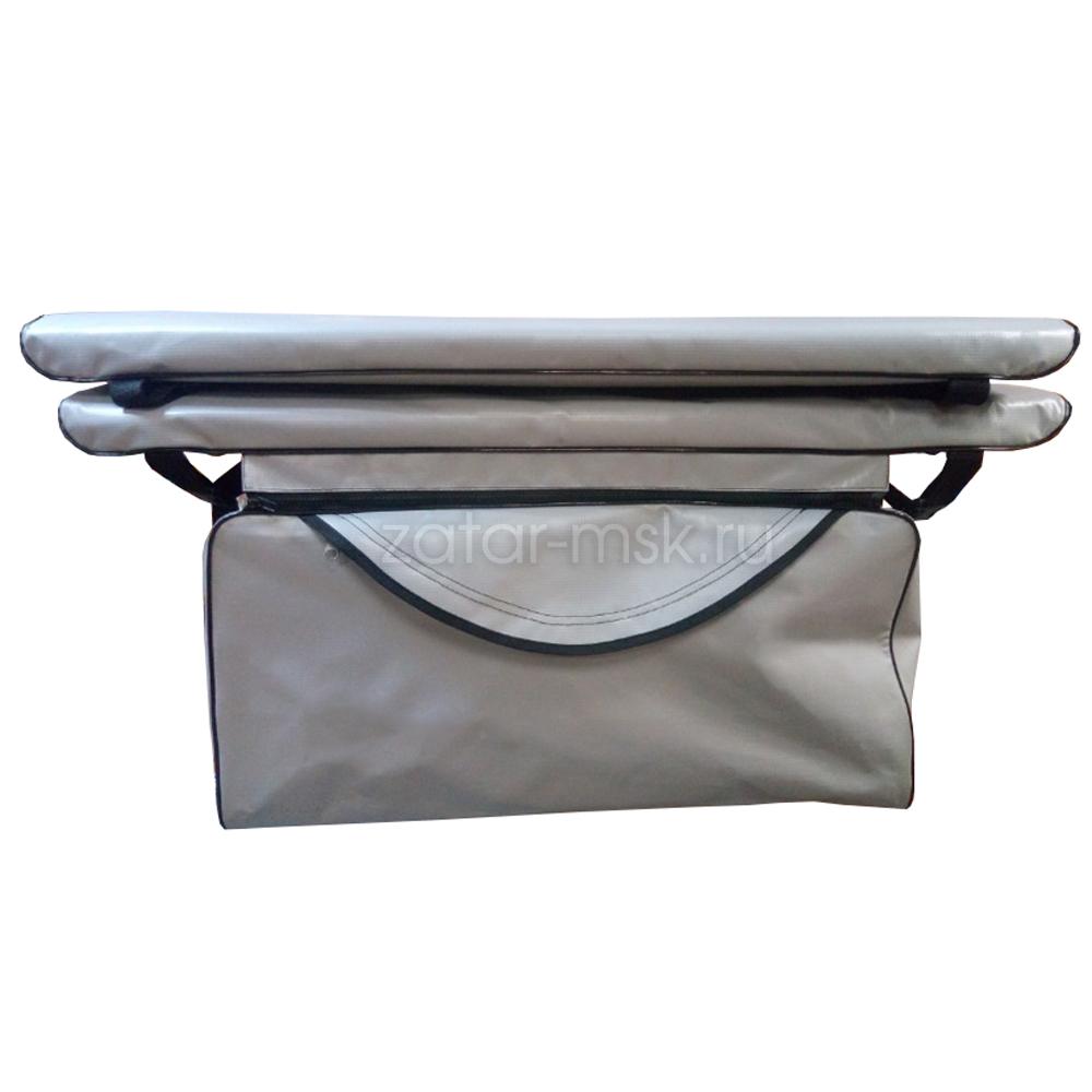 Комплект 100х24 накладки на лодку + сумка под банку (2+1) ПВХ