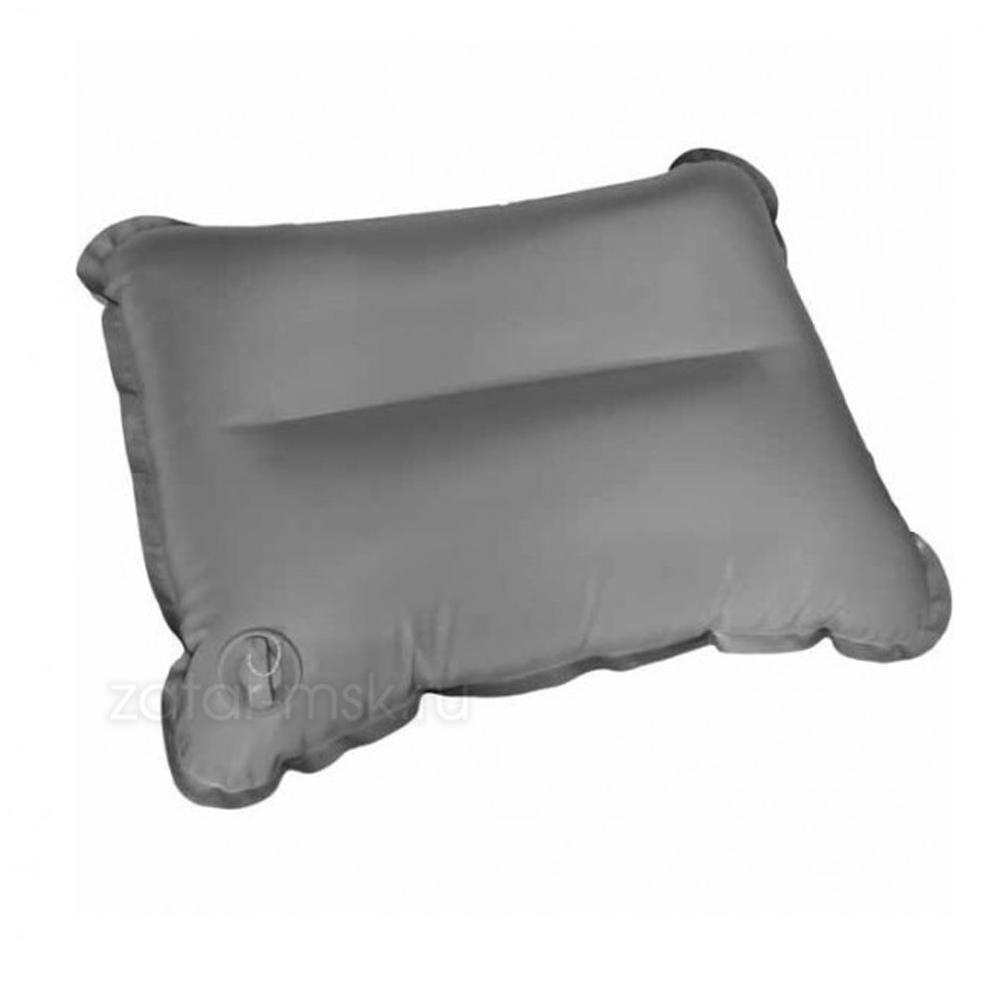 Подушка, пуфик прямоугольный для лодки №1.5 серый