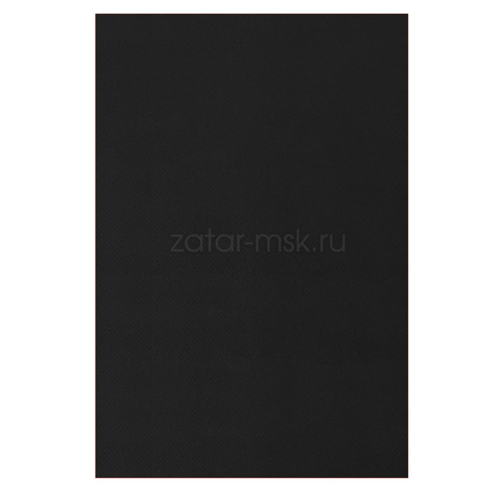 Ткань ПВХ 750 грм2 100смх50см Черная RAL9011