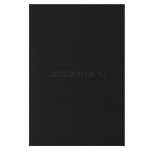 Ткань ПВХ 750 грм2 50смх18см Черная RAL9011