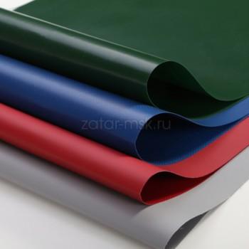 Ткань ПВХ 850 гр/м2 100см*50см Зеленая RAL6020