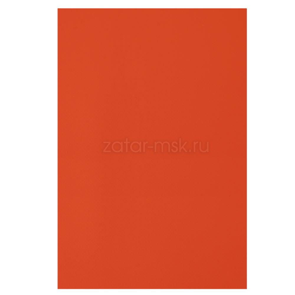 Ткань ПВХ 850 гр/м2 50см*18см Оранжевая RAL2004