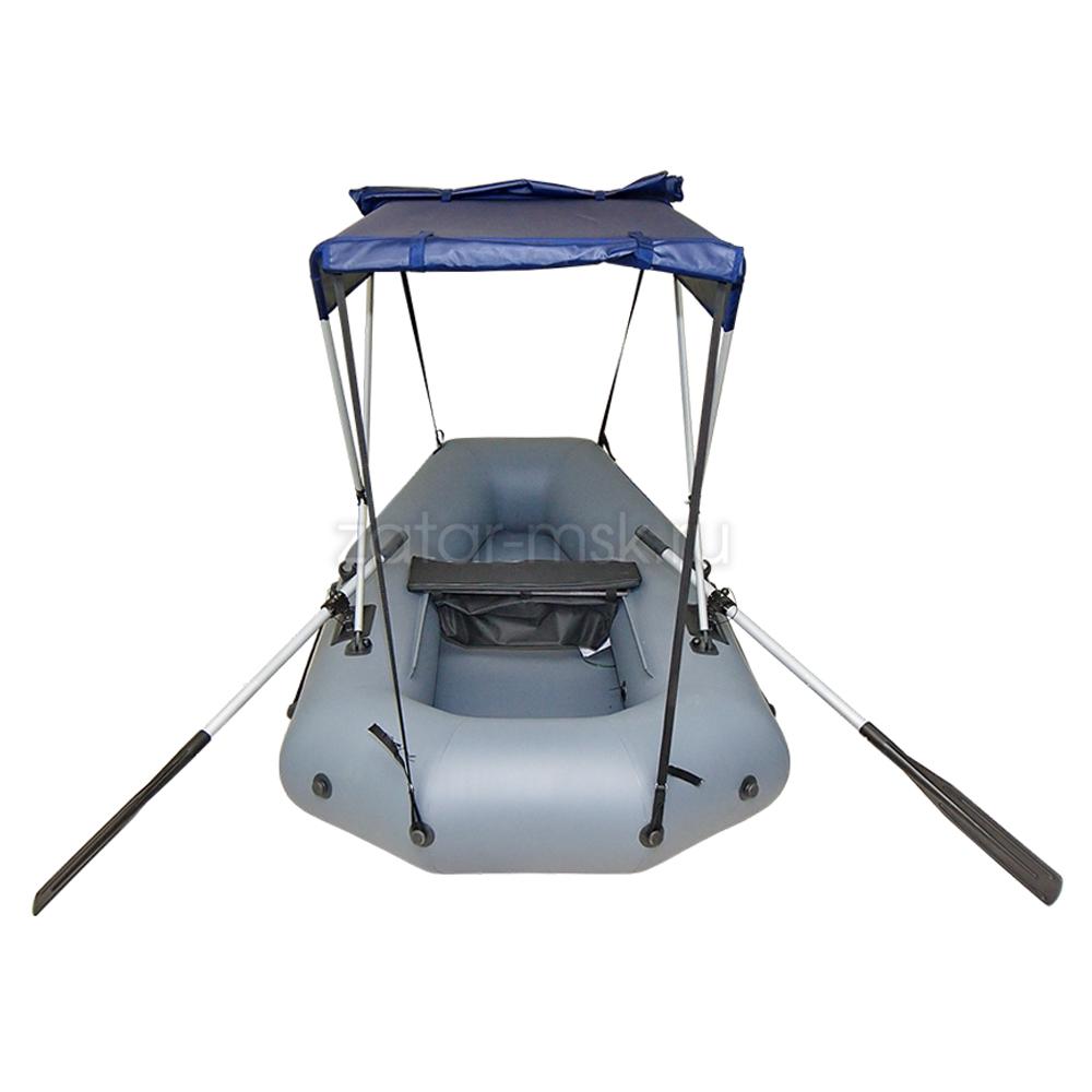 Тент на лодку 220-260 Зонтик №1.4 Синий
