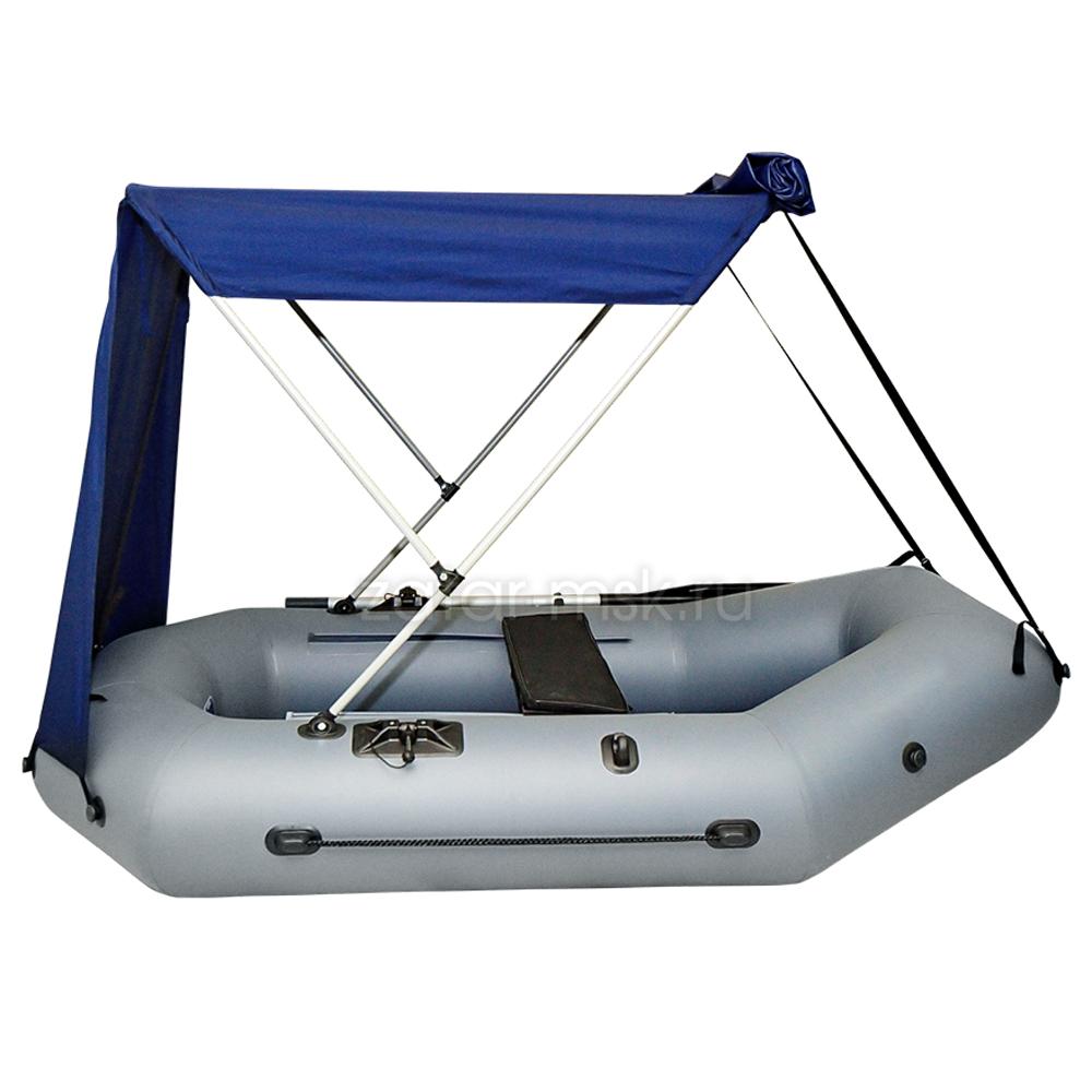 Тент на лодку 290-310 Мостик №1.4 Синий