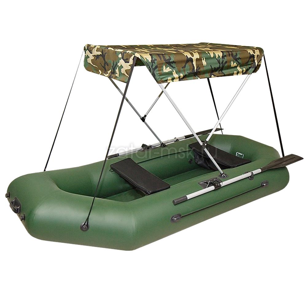 Тент на лодку 290-310 Зонтик №1.4 Олива