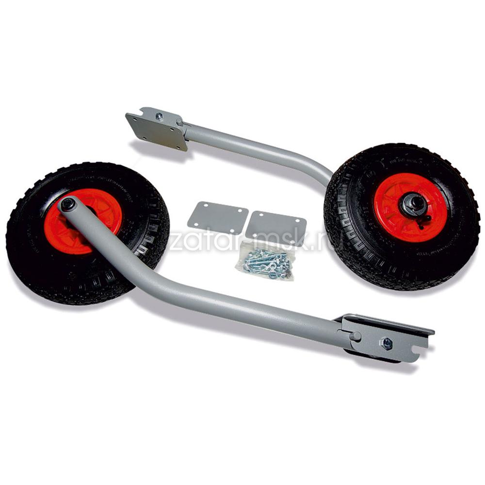 Транцевые колеса №1.4, удлиненные, трансформер, откидные