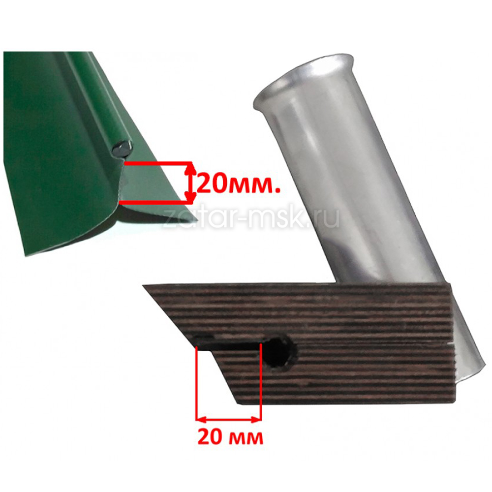 Универсальный крепежный блок №1.5 2-х спиннингов