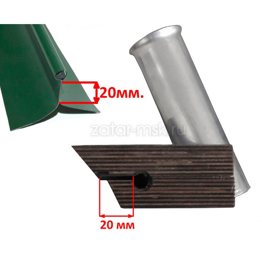 Универсальный крепежный блок №1.5 2-х спиннингов, 50мм + 40 мм