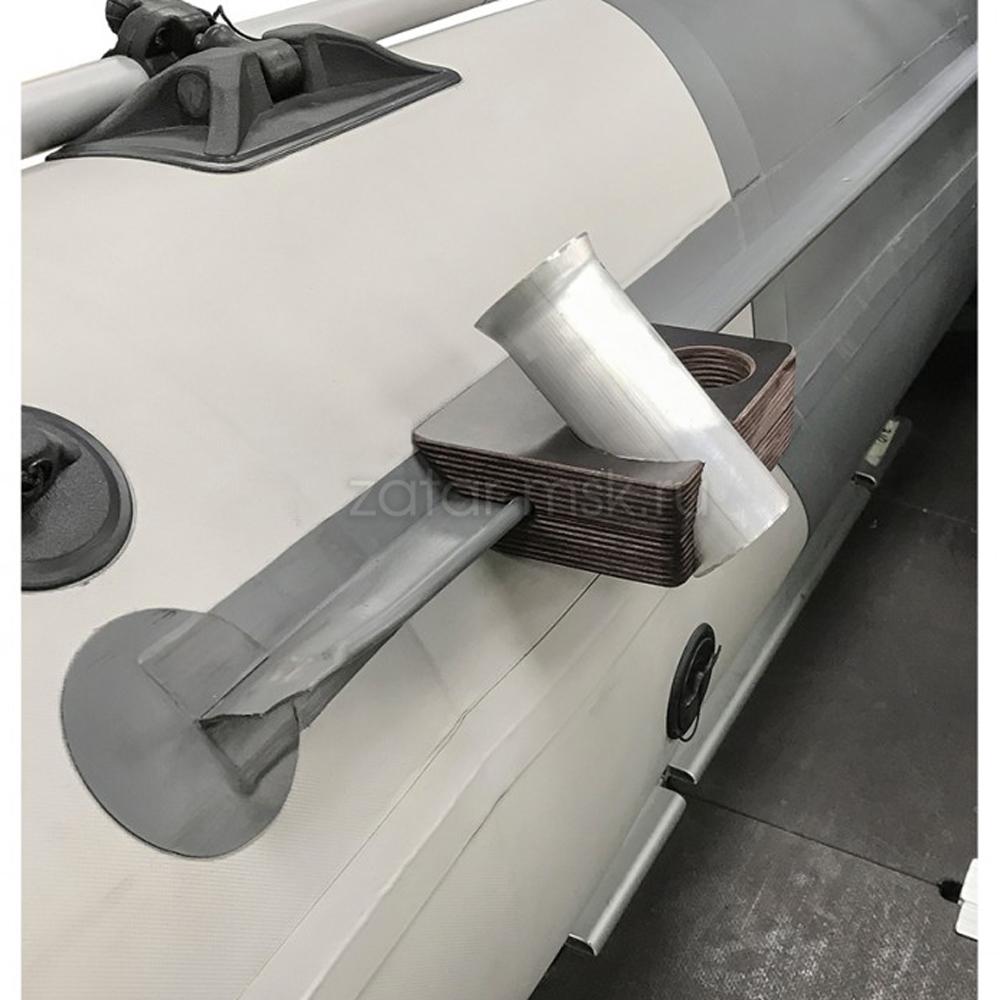Универсальный крепежный блок №1.5 2-х спиннингов, 50мм + 40 мм, ликтрос, клей