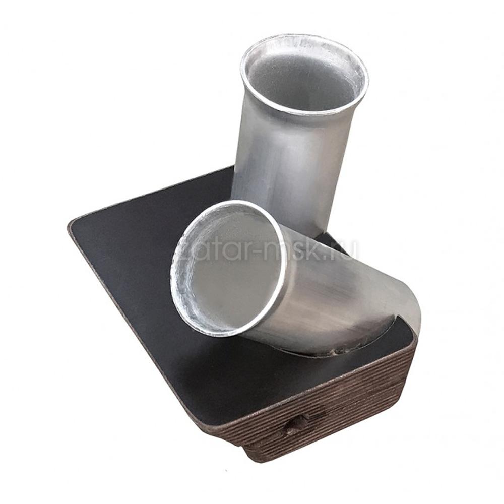 Универсальный крепежный блок №1.5 2-х спиннингов, 50мм