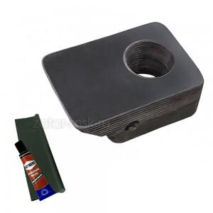 Универсальный крепежный блок №1.5 спиннинга + ликтрос, клей
