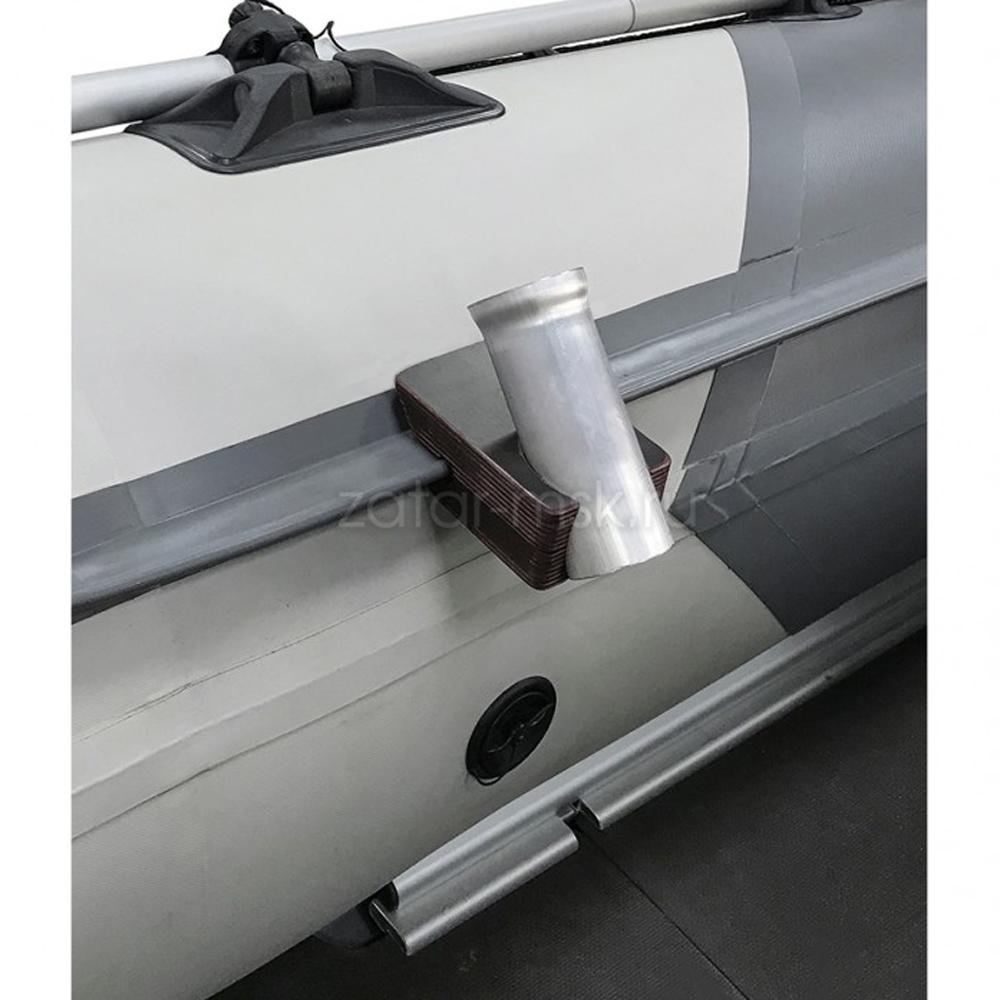 Универсальный крепежный блок №1.5 спиннинга, 40мм, ликтрос, клей
