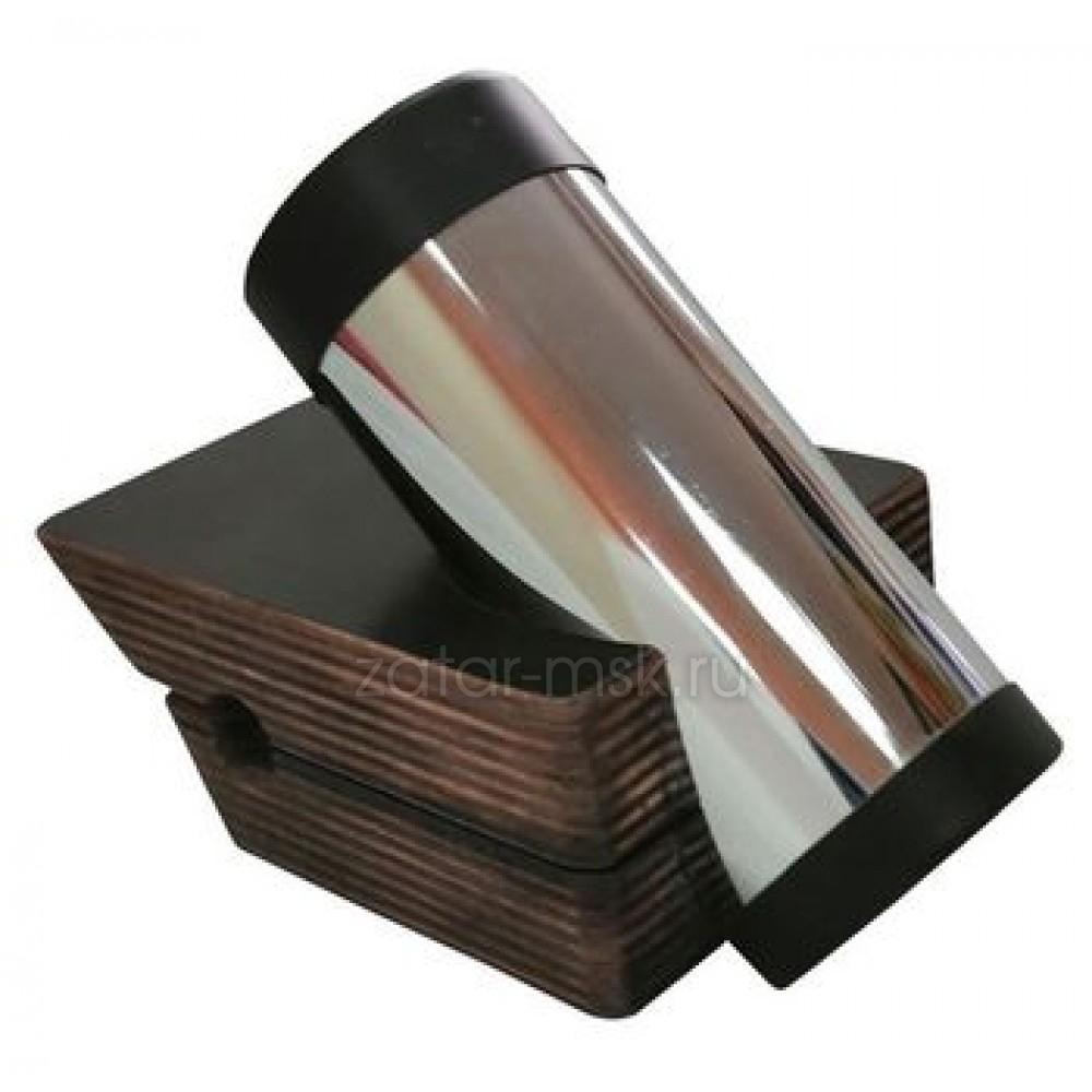 Универсальный крепежный блок №1.5 спиннинга, хром 50мм, ликтрос, клей