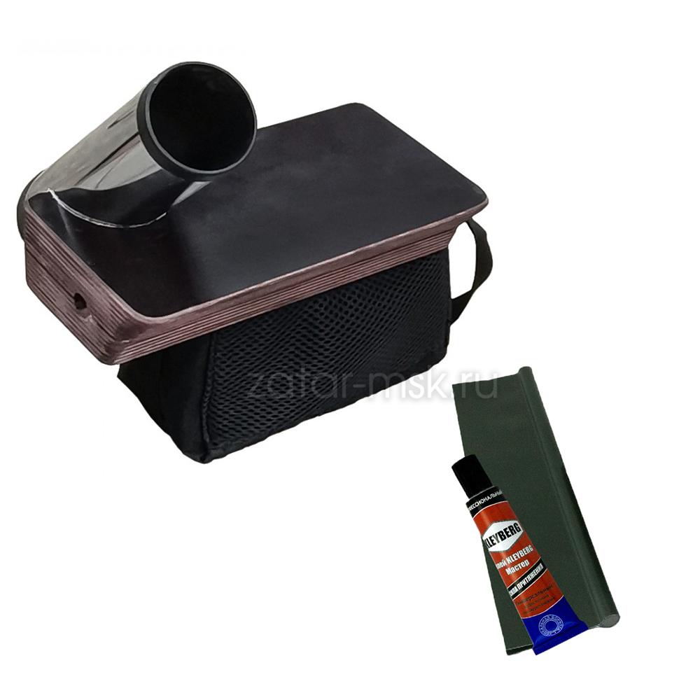 Универсальный крепежный блок №1.5 удочка + столик и сумка под АКБ + крепления