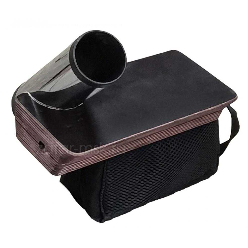 Универсальный крепежный блок №1.5 удочка + столик и сумка под АКБ