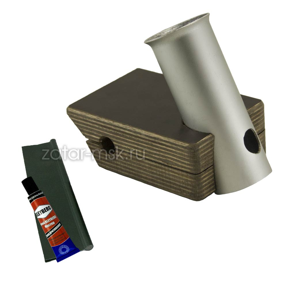 Универсальный крепежный блок, держатель спиннинга MIN №1.1 с ликтросом