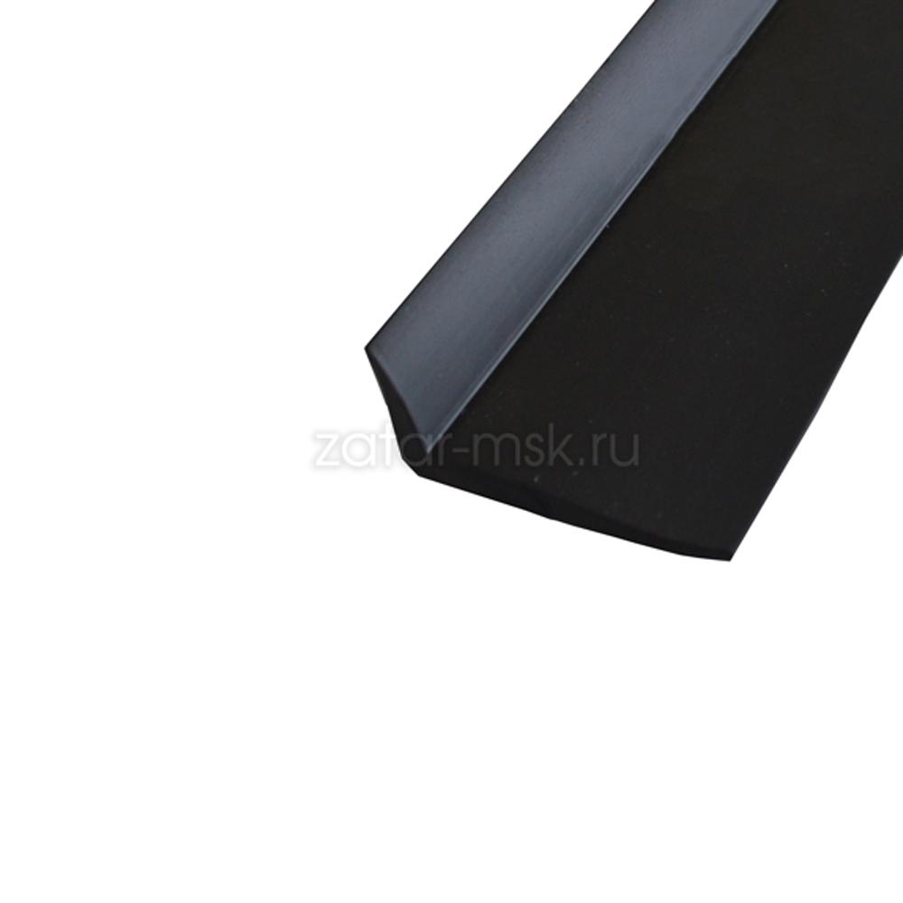 Г-образный профиль для защиты транца лодки №1.1 черный