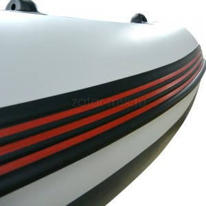 Привальный брус 90 с брызгоотбойником №1.1 черный - красный