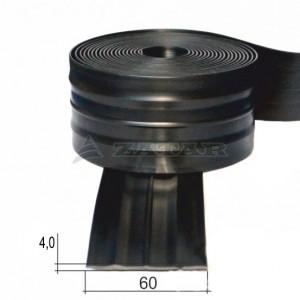 Привальный брус, лента 60 черная