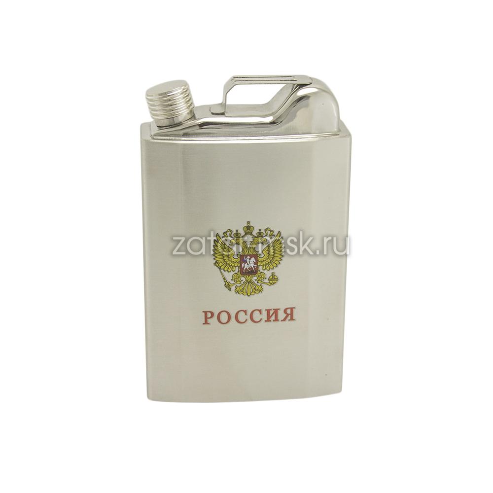 Фляга канистра Россия 0,5л.