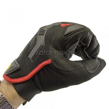 Перчатки Mechanix black red M-Pact MPT-72-008
