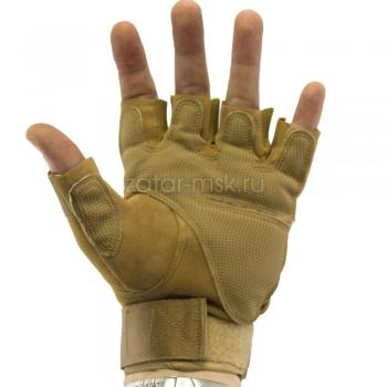 Тактические перчатки беспалые Oakley, пустыня
