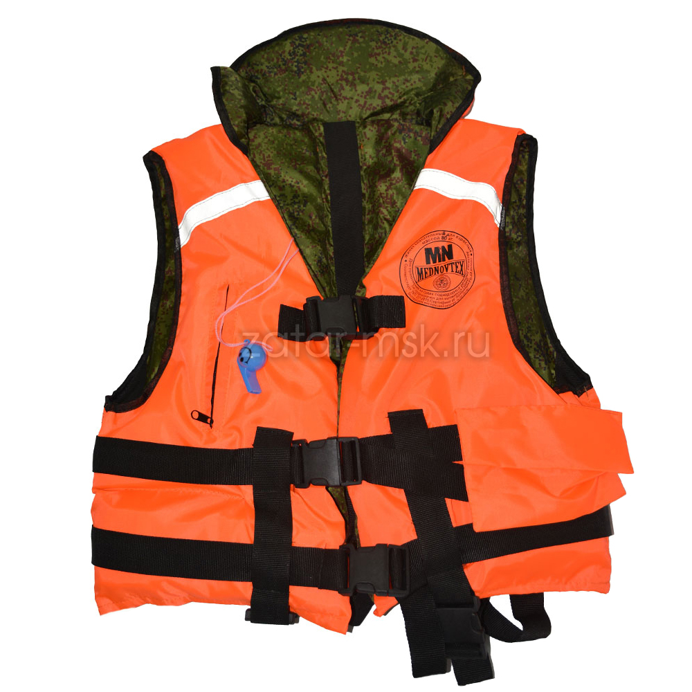 Жилет спасательный Капитан 65кг для лодки